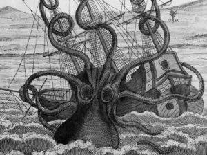 Mitos Kraken - Sang Penguasa Lautan 02