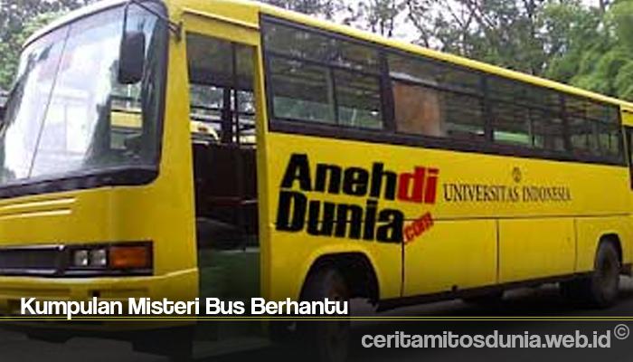 Kumpulan Misteri Bus Berhantu