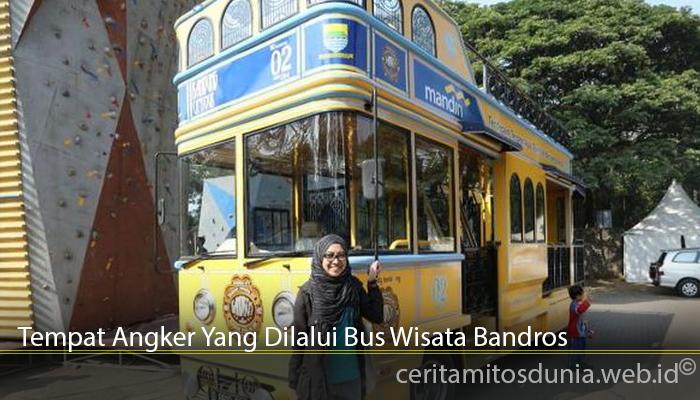 Tempat Angker Yang Dilalui Bus Wisata Bandros