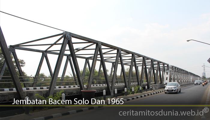 Jembatan Bacem Solo Dan 1965