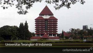Universitas Terangker di Indonesia